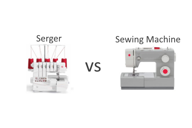 Sewing Machines vs. Sergers – What makes the difference?